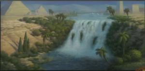אזור מדברי חדש בגוון מצרי