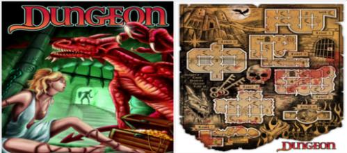 הפוסטר המלווה את המשחק החדש Dungeon
